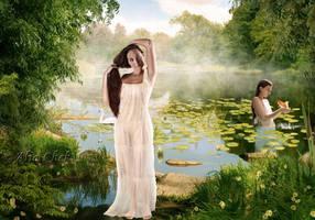 The Bathers by AliaChek