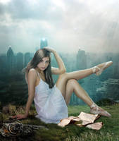 High Above the City by AliaChek