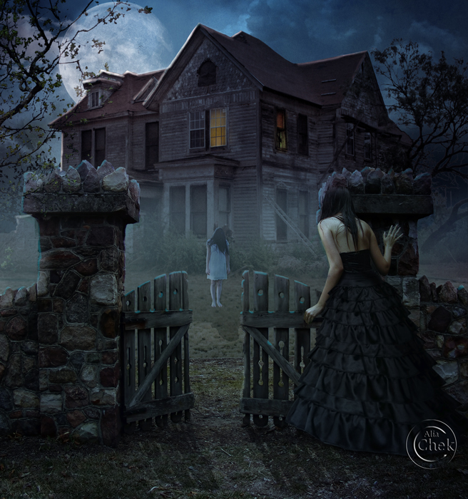 Haunted House by AliaChek