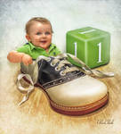 Baby In The Shoe