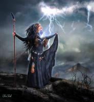Lightning Caster by AliaChek