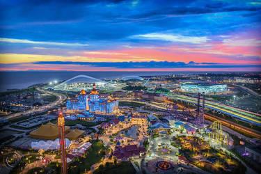 Olympic Park, Sochi by AliaChek