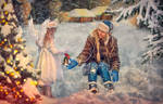 Christmas Angel by AliaChek