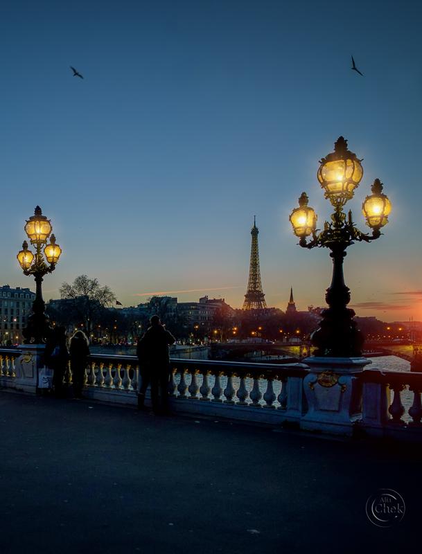 Paris Evening by AliaChek