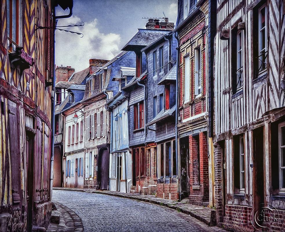 Honfleur by AliaChek