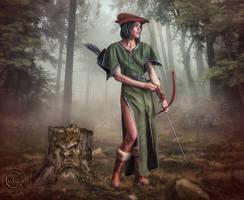 Robyn Hood by AliaChek