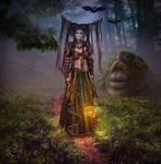 Wood Fairy by AliaChek