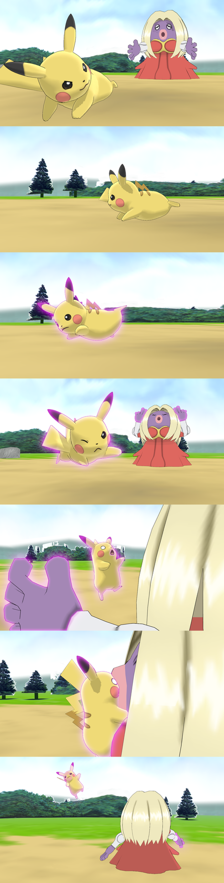 [MMD] (comic) (req) Jynx used 'Telekissnesis' by Jasalad