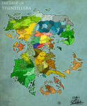 The land of Thentillera (2014 version)