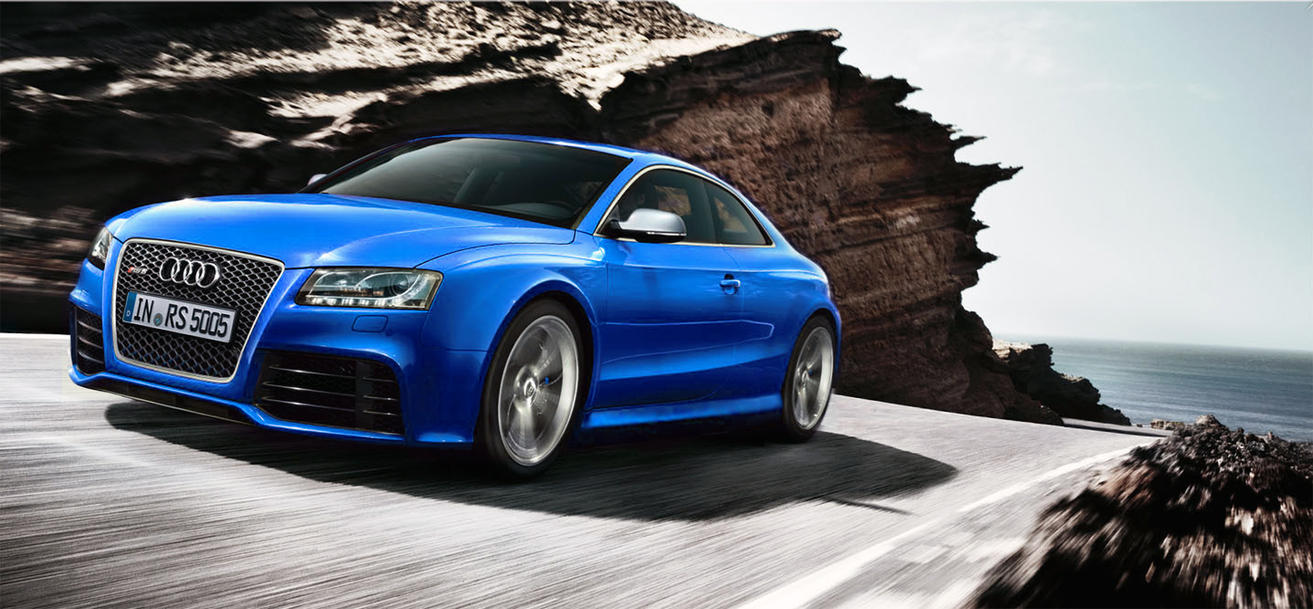 audi rs5  blue by EDLdesign