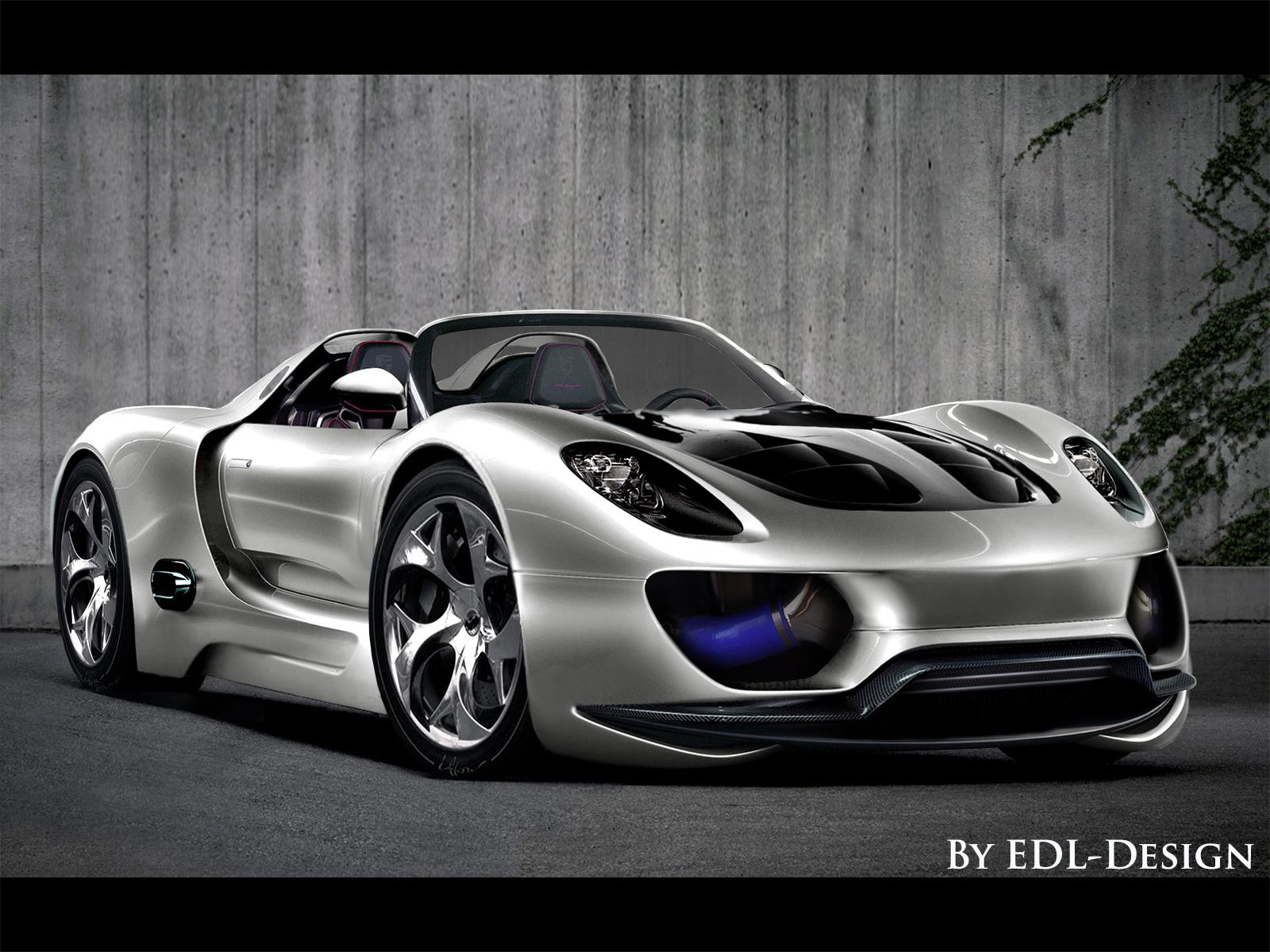 Porsche 918 Spyder  by EDL by EDLdesign
