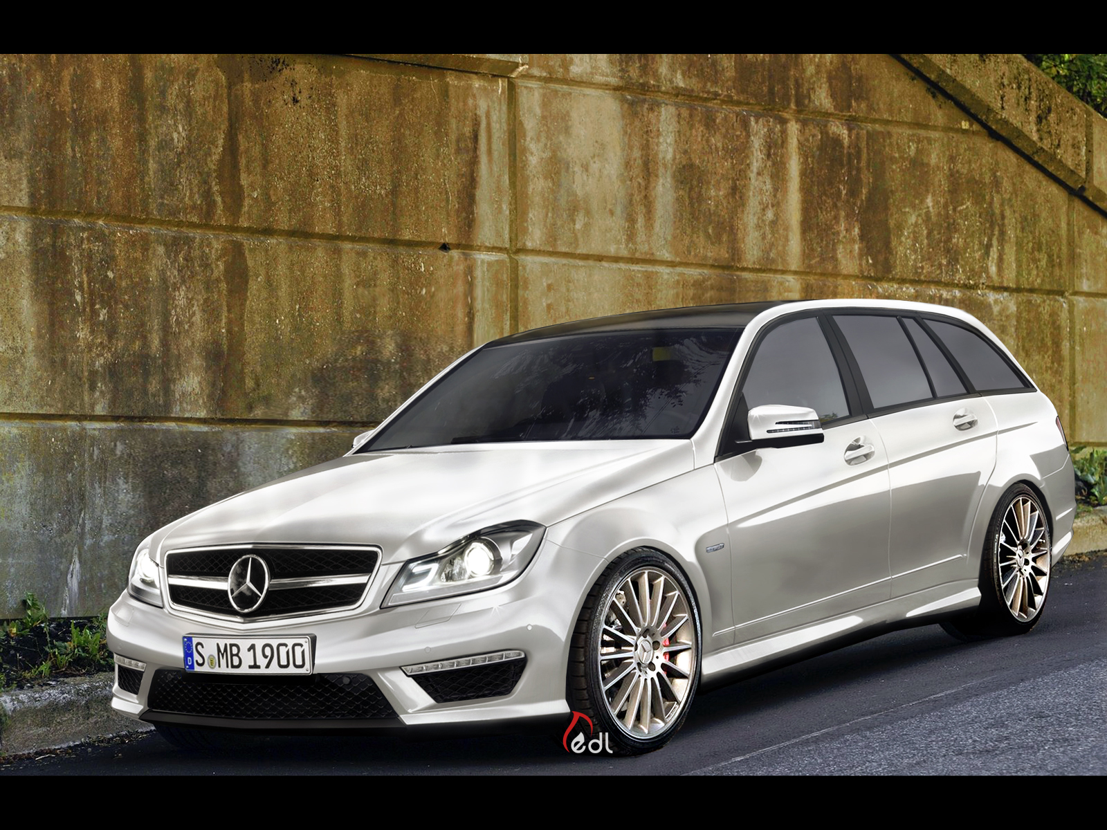 mercedes benz c class 2012 amg by edldesign on deviantart. Black Bedroom Furniture Sets. Home Design Ideas