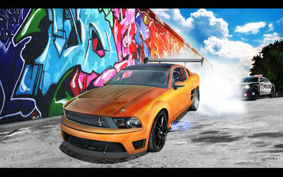 Ford Mustang 'Burnout'EDL by EDLdesign