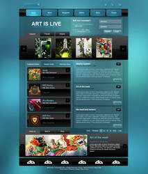 Art is Live by SirJulien