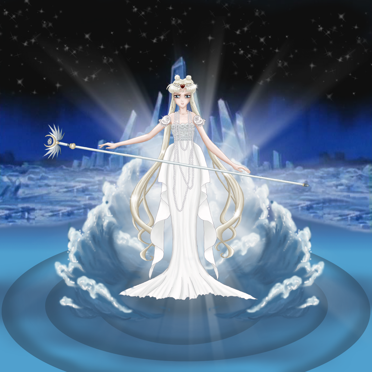 Neo Queen Serenity Crystal: Neo Queen Serenity By Alphaniah On DeviantArt