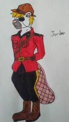 Jordan (art trade)  by StripesDragonBorn
