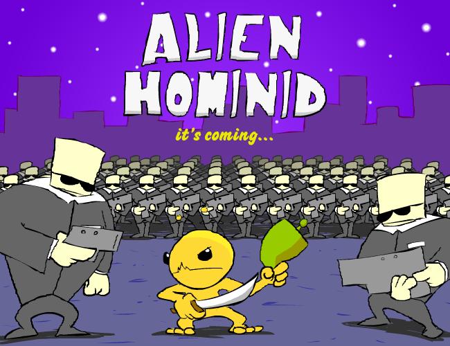 Alien Hominid Teaser by MonkeyforaHead