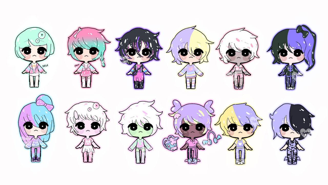 Pastel adoptables (7/12 OPENED)