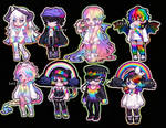 Rainbow Gaia Adoptables (4/8 OPENED)