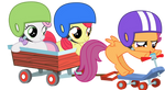 Cutie Mark Crusaders on a Mission