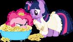 Twilight and Spongie Pie