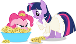 Twilight and Spongie Pie