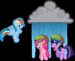 Prank Failed - We Got Umbrella Hats! by GoblinEngineer