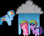 Prank Failed - We Got Umbrella Hats!
