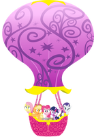 Balloon Ride - Its coming right for us! by GoblinEngineer