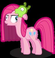 Pinkie Pie and Brainslug by GoblinEngineer