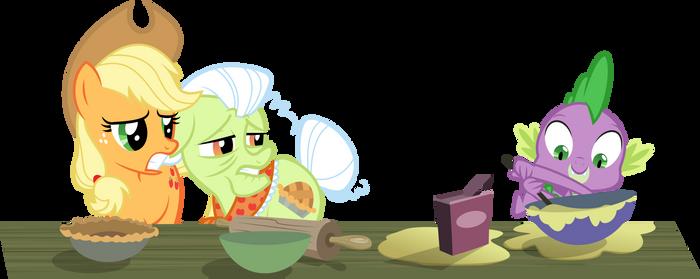 Spike, the baker