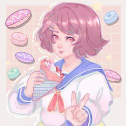 (Commish) Pastel sweets