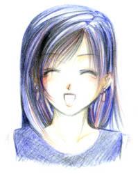 Tifa's Laugh by Seii-Monogatari