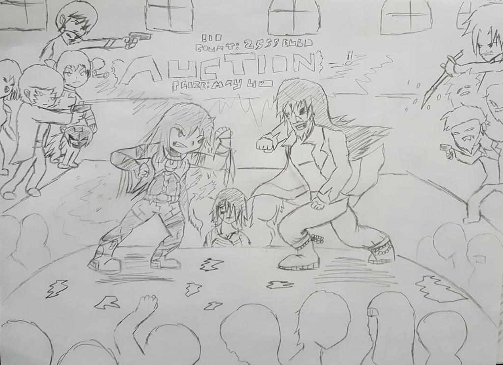 Dragon Diarys - Binaca vs Borojei Imai by Linkwolf48