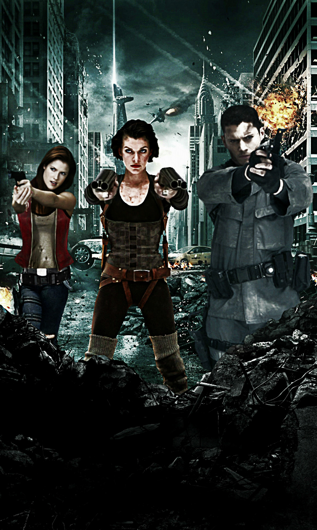 Resident evil afterlife wallpaper 4 by mayfuite on deviantart - Resident evil afterlife wallpaper ...