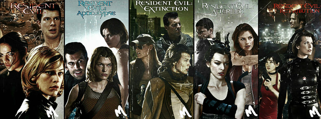 Resident Evil - All Movies Wallpaper by mayfuite