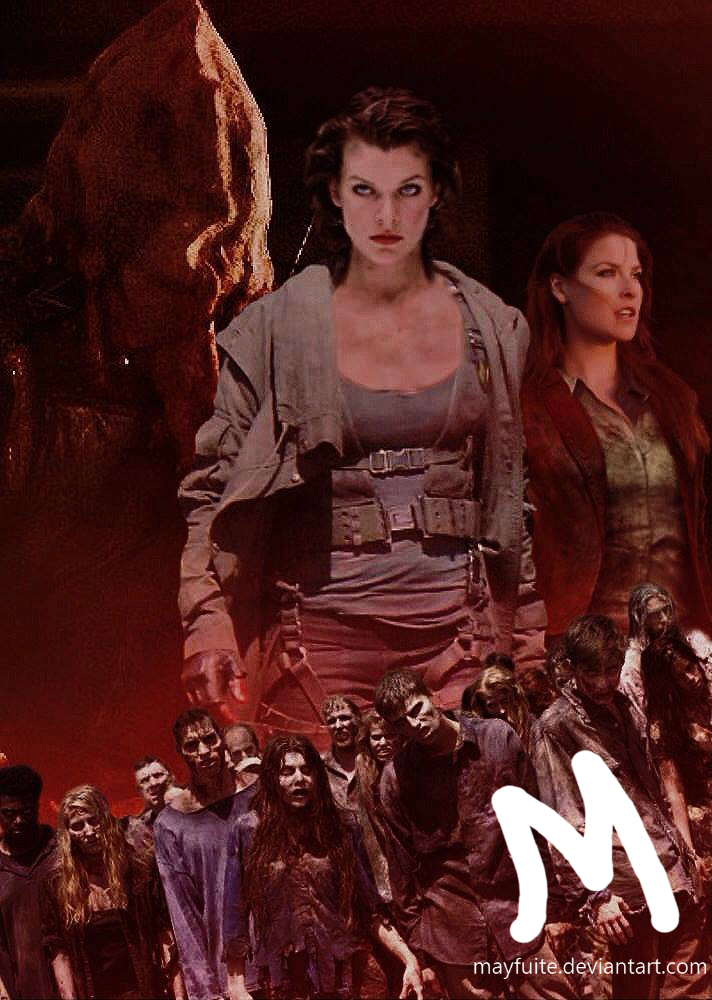 Resident Evil The Final Chapter By Mayfuite On Deviantart