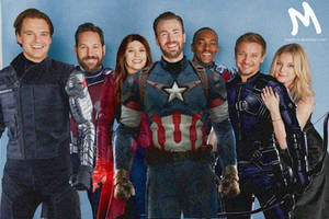 The Avengers, Team Cap by mayfuite