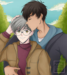 Happy belated birthday Yukito by Haoiki