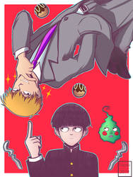 Mob Pyscho 100 by Haoiki