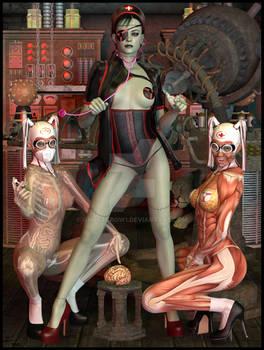 Goetia Girls: Frankenstein Witch Nurse Succubus