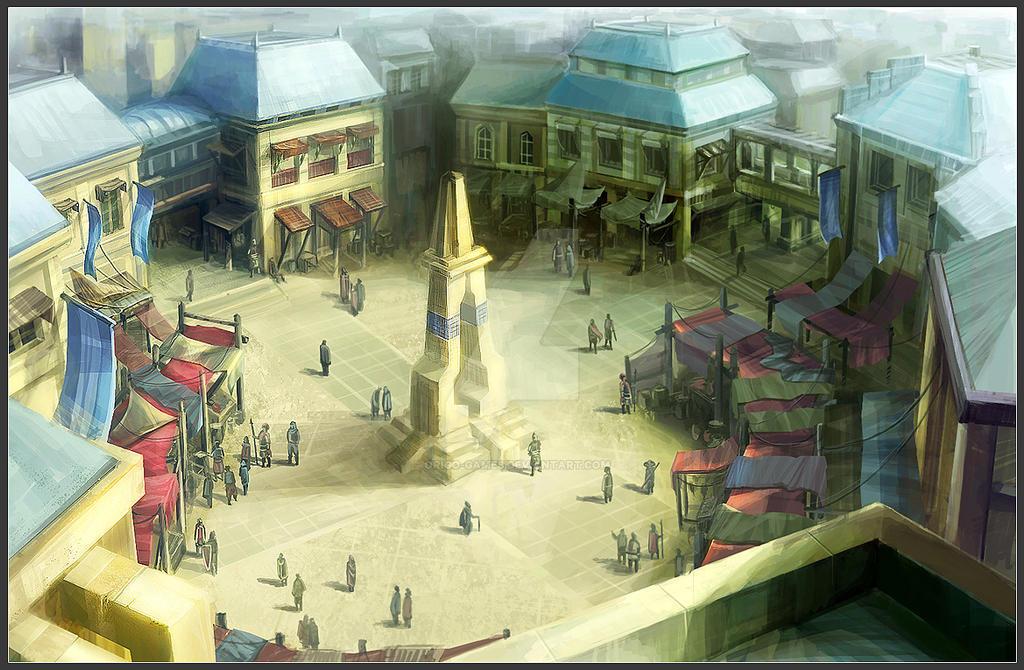 TKO: Market Lobby Concept by ORiGO-GAMES