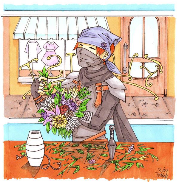 Florist Ninja by Ed-Zed