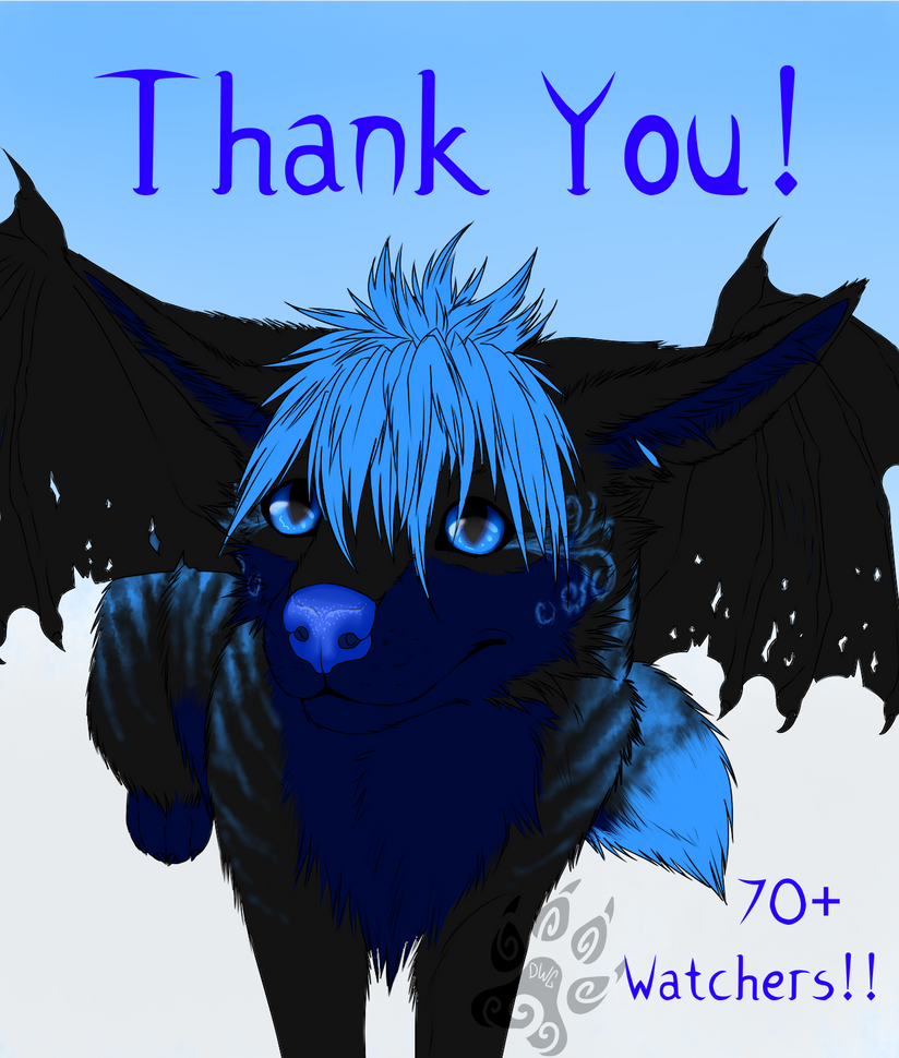 Thank You 70+ Watches!! by DeadWolfGirl93
