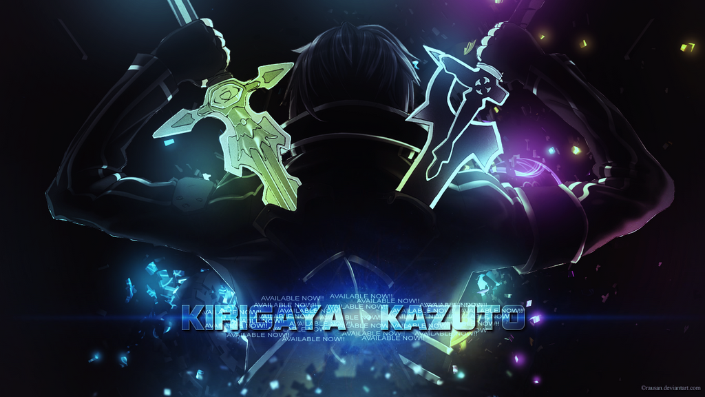 Kirigaya Kazuto Kirito Wallpaper By Rausan