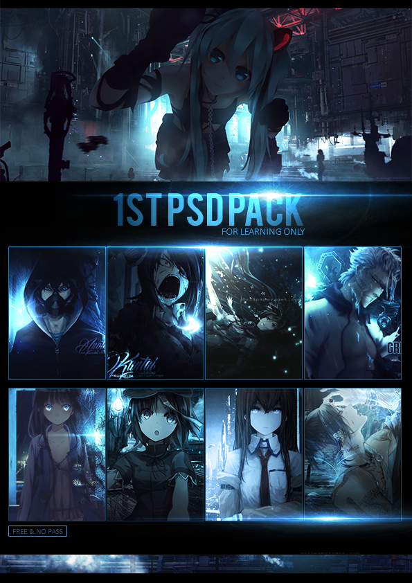 1st PSD Reference Pack by rausan