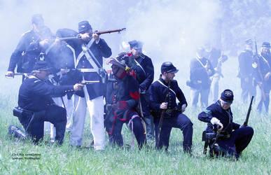 Civil War Reenactment by andreasbraunlich