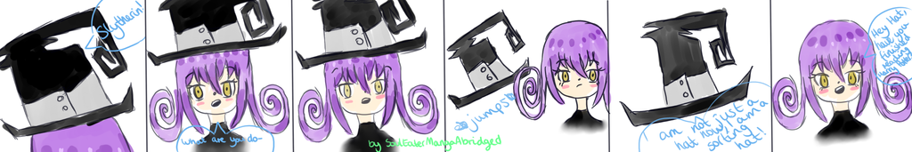 COMIC ABOUT BLAIR FROM SOUL EATER BC I'M TRASH by sealiepie