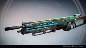 Rubico: Exotic Sniper Rifle Concept by Omega Zero by DestinyWarlock