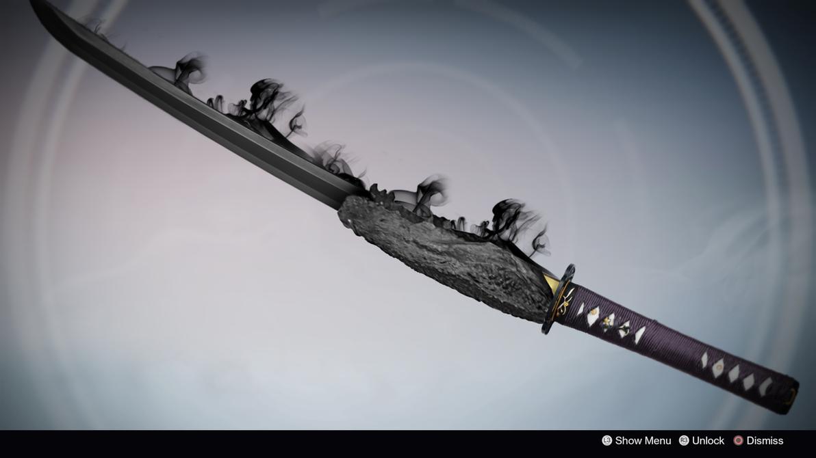 Maledictus Vitae Sword Concept By Tyler Williams DestinyWarlock